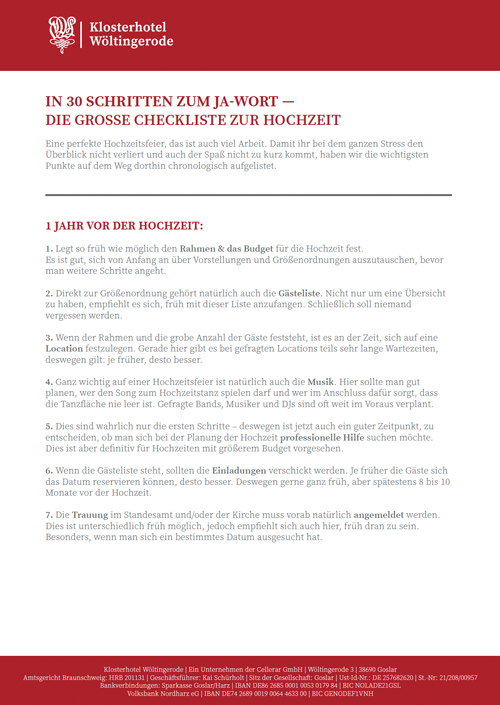 cover checkliste